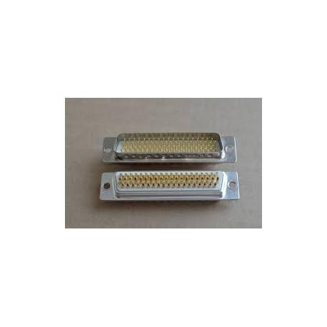 D-Sub machine pin Male 4 row