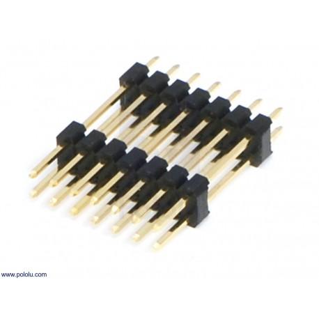 پین هدر نری 2x40 استریت بلند 2mm