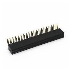 پین هدر مادگی 2x40 رایت انگل 2.54mm