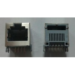 Rj45 8p gray metal shield