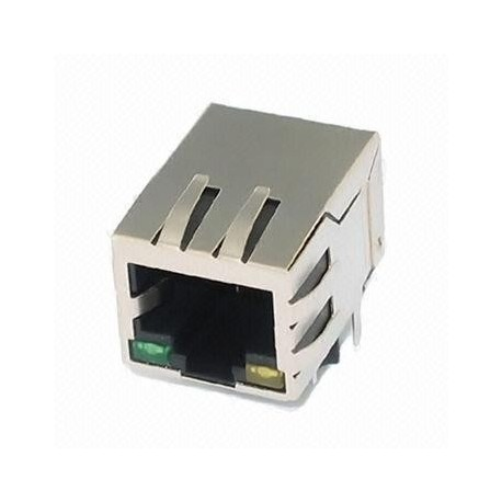 Rj45- 8p With LED & Filter