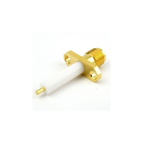 تفلن بلندSMA FEMALE 2HOLE Panel Mount RF Connector