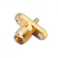 FEMALE 2HOLE Panel Mount RF Connector
