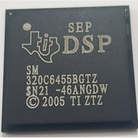 DSP Texas Instruments TMS320C6455BGTZ