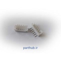مینیاتوری نری 6 پین 2mm رایت انگل( RA)