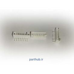 مینیاتوری نری 8 پین 2mm رایت انگل( RA)