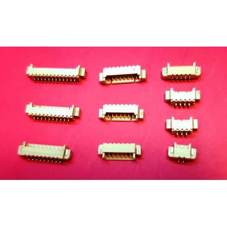 تیغه ای FH نری 6 پین SMD سری (1.25mm)