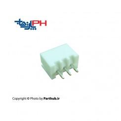 XH دزدگیری 3 پین 2.5mm استریت( صاف)