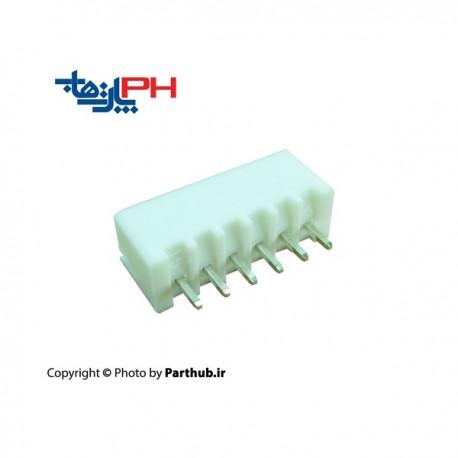 دزدگیری (XH) 6 پین 2.5mm استریت( صاف)