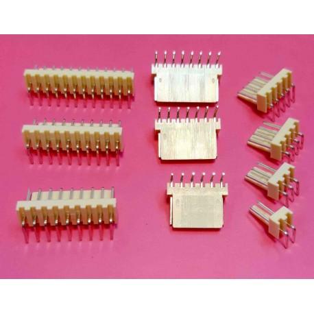 مخابراتی (2510) 2 پین 2.54mm نود درجه (RA)