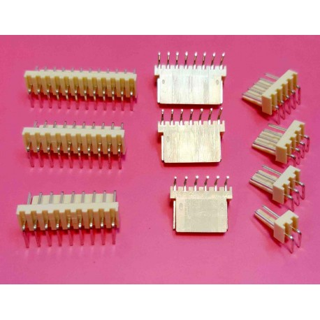 مخابراتی (2510) 3 پین 2.54mm نود درجه (RA)
