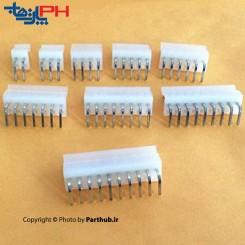 پاور بدون قفل(CH) 3 پین 3.96mm نود درجه (RA)