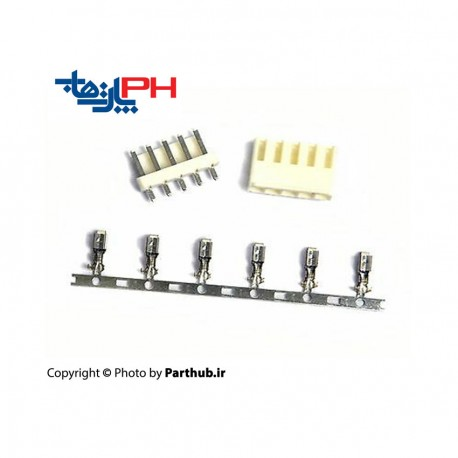 پاور قفلدار 3.96mm صاف استرایت (VH)