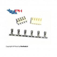 پاور قفلدار (VH) 7 پین 3.96mm نود درجه (RA)