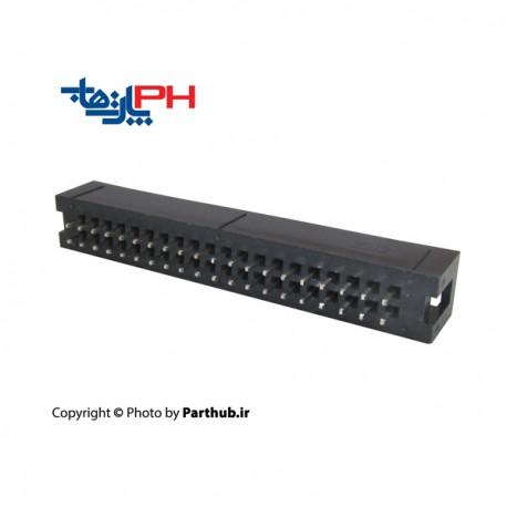 کانکتور باکس هدر 2*20 (40 پین) 2.56mm صاف