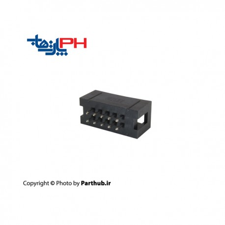 باکس هدر(IDC) 2*5 (10 پین) 2.00mm صاف (ST)