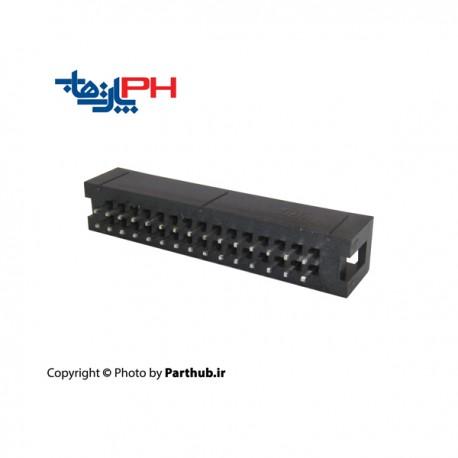باکس هدر(IDC) 2*15 (30 پین) 2.00mm صاف (ST)