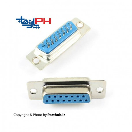 D-Sub Solder 15 Pin female