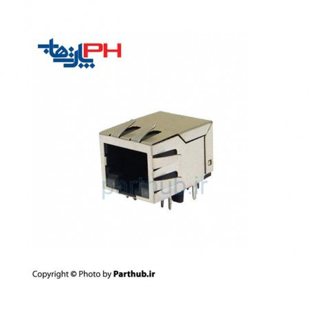 Rj45-10p With LED & Filter