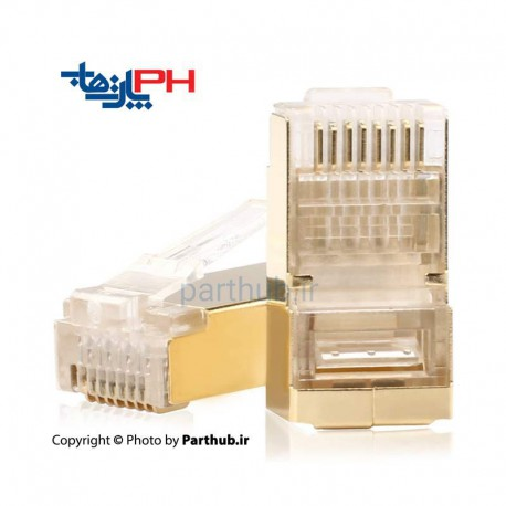 Rj45 Plug CAT6 GOLD shield