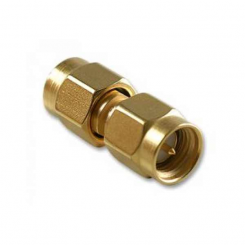 SMA Male to SMA Male Barrel RF Connector Adapter