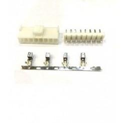 پاور قفلدار 2 پین 3.96mm استریت(VH)