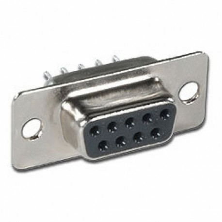 D-Sub machine pin dip female