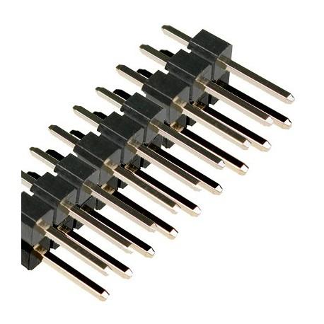 پین هدر نری 2x40 استریت 1.27mm