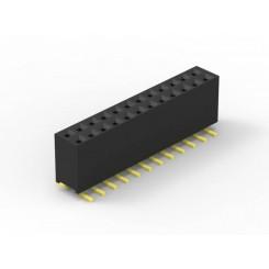 پین هدر مادگی 2x50 SMD 1mm