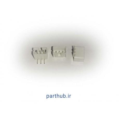 مینیاتوری 3 پین 2mm رایت انگل( RA)