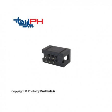 کانکتور هدر باکس 2*3 (6 پین) 2.56mm