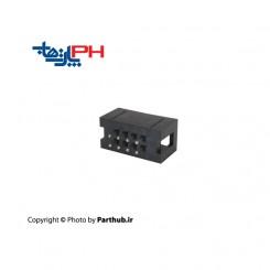 باکس هدر(IDC) 2*4 (8 پین) 2.54mm صاف (ST)