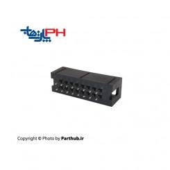 باکس هدر(IDC) 2*8 (16 پین) 2.54mm صاف (ST)