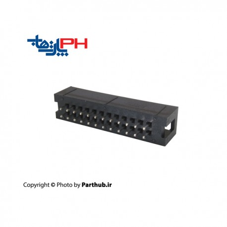 کانکتور هدر باکس 2*12 (24 پین) 2.54mm