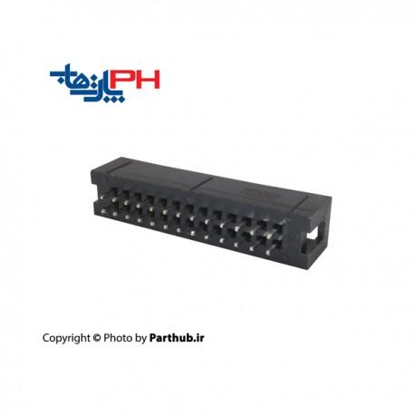 باکس هدر(IDC) 2*13 (26 پین) 2.00mm صاف (ST)