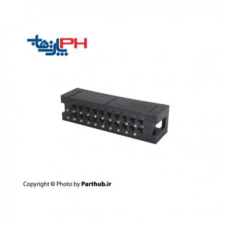 کانکتور هدر باکس 2x10 (20 پین) 1.27mm