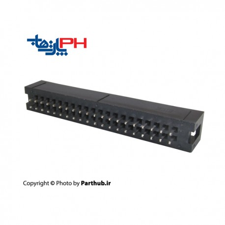 کانکتور هدر باکس 2x20 (40 پین) 1.27mm