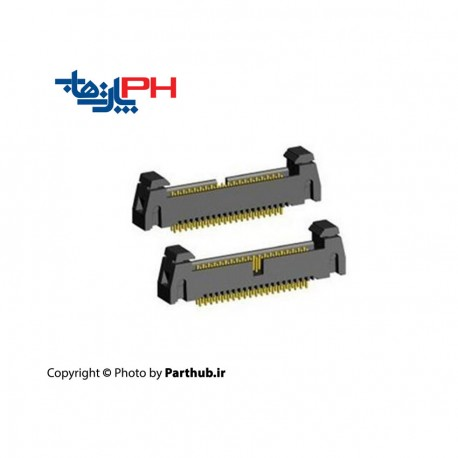 باکس هدر قفلدار 2*5 (10 پین) 1.27mm صاف (ST)