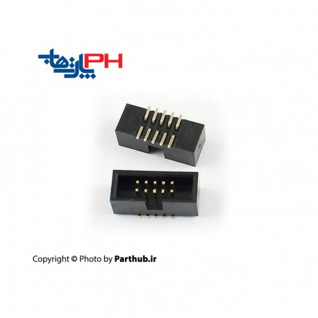 باکس هدر(IDC) 2*8 (16 پین) SMT 1.27mm