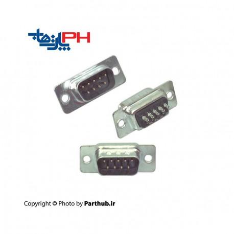 D-Sub سرکابلی (solder) نر 9 پین