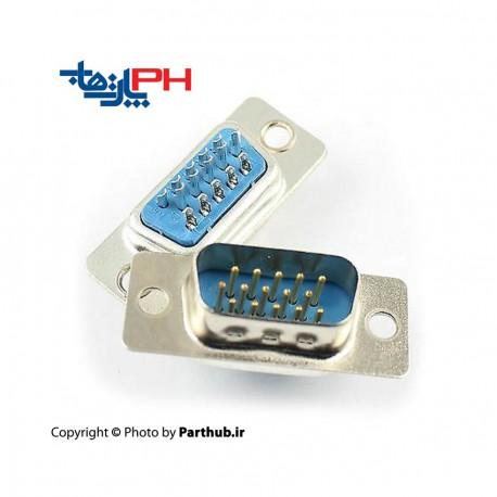 D-Sub Solder hd 15 Pin Male