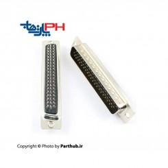 D-Sub سرکابلی (solder) سه ردیفه (HD) نر 62 پین
