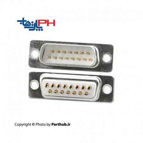D-Sub machine pin 15 pin Male