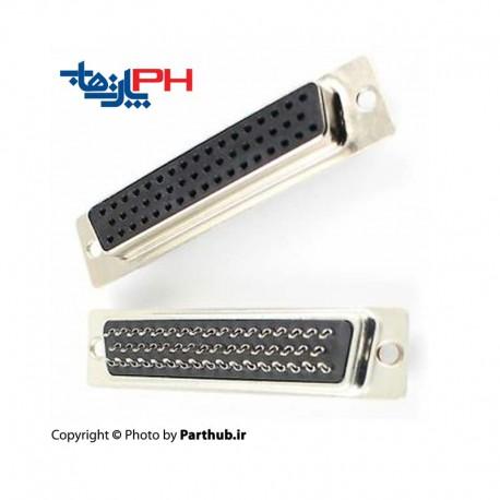 D-Sub سرکابلی (solder) صنعتی سه ردیفه (HD)ماده 50 پین