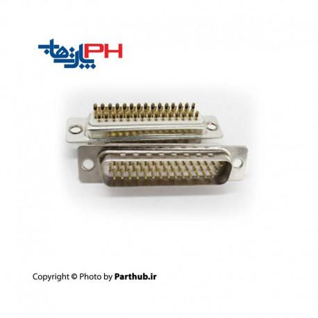 D-Sub machine pin Male 3 row