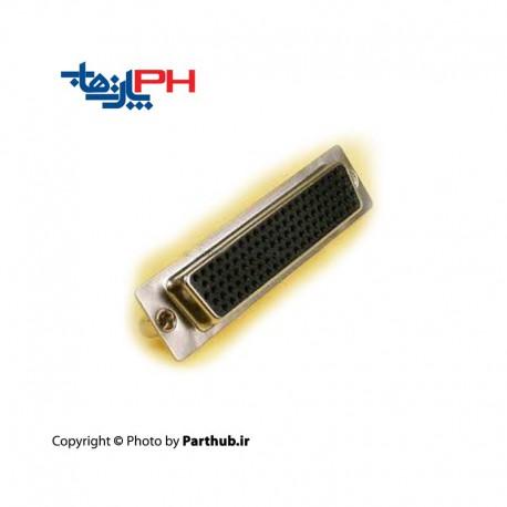 D-Sub machine pin solder female 4 row
