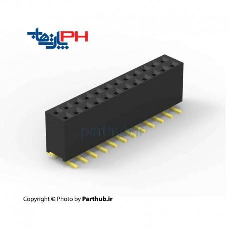 پین هدر مادگی 2x40 smd 2.54mm