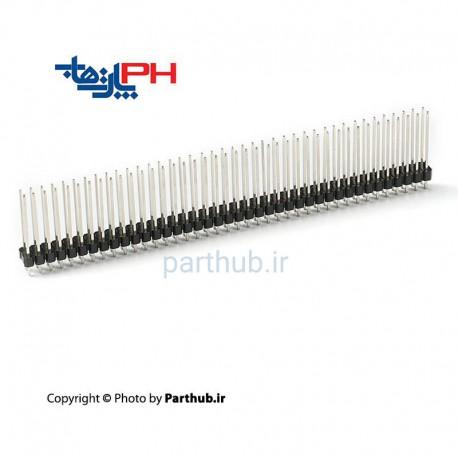 پین هدر نر 2x40 صاف 2.54mm بلند (17mm)