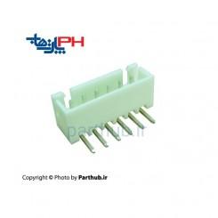 کانکتور دزدگیری (XH) نر 6 پین 2.5mm نود درجه (RA)