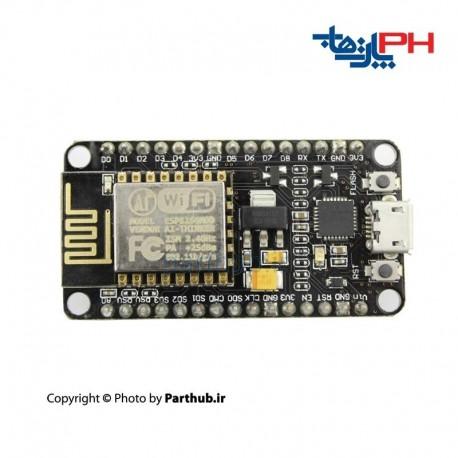 برد NodeMcu با ESP8266 wifi module با مبدل CP2102